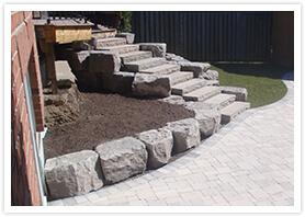 block retaining walls kleinburg 01