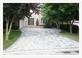 woodbridge custom driveway contractor