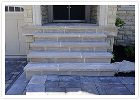 custom flagstone steps vaughan 8