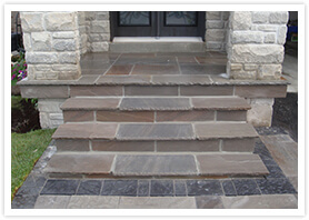 custom flagstone walkways vaughan 6