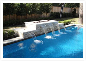 custom pool fountains richmond Hill 6