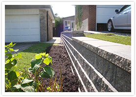 custom retaining wall design kleinburg 3