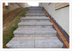 landscape stairs design woodbridge 4