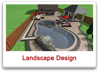 landscape design maple