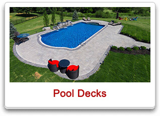 pool decks maple
