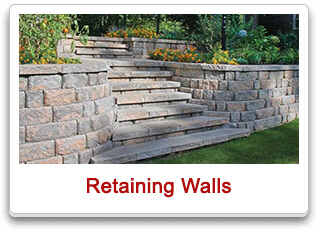 retaining walls maple