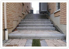 outdoor stairs design contractor vaughan 5
