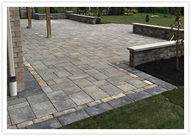 patio landscaping maple 01