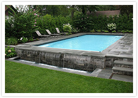 pool landscaping maple 7