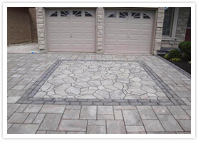 stone driveways in king