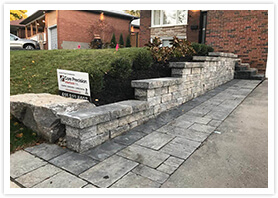 stone retaining walls woodbridge 0