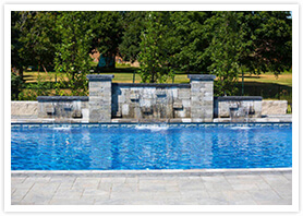swimming pool water features richmond Hill 2